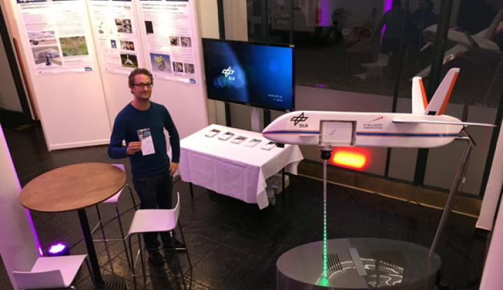 Information desk at the Science Days Munich